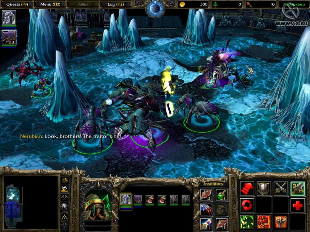 Warcraft 3 Frozen Throne скачать Torrent - фото 10